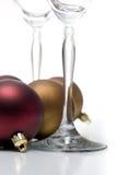 Serie del ornamento de la Navidad Foto de archivo libre de regalías