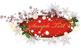 Serie del panel del invierno Imagen de archivo libre de regalías
