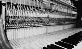 Serie del piano ninguna 1 imagen de archivo
