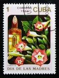 Serie del tabacco, dei fiori e dei profumi, circa 1989 Fotografia Stock