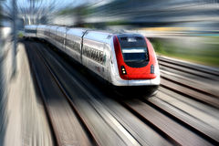 Serie del treno Fotografia Stock Libera da Diritti