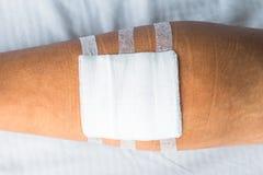 Serie del vendaje para heridas fotos de archivo