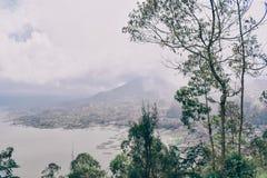 Serie del viaje de Asia paisaje imponente del Balinese fotos de archivo