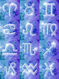 Serie del zodiaco - 12 muestras Imagen de archivo