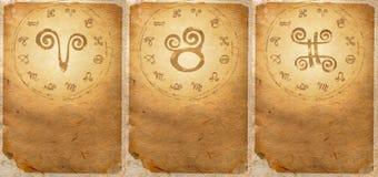 Serie del zodiaco Fotos de archivo libres de regalías