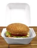 Serie dell'hamburger Immagini Stock