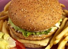 Serie dell'hamburger Fotografie Stock Libere da Diritti
