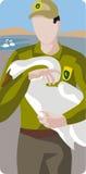 Serie dell'illustrazione di ecologia illustrazione di stock
