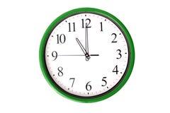 Serie dell'orologio - 11 in punto Fotografia Stock