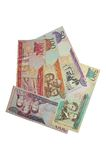 Serie della banconota del peso della Repubblica dominicana Fotografia Stock