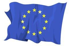 Serie della bandierina: Europa Fotografia Stock