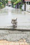 Serie della costruzione di strade del cemento fotografia stock libera da diritti