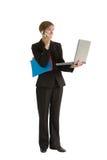 Serie della donna di affari - Projec Fotografia Stock Libera da Diritti