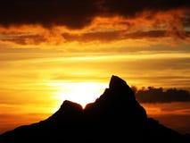 Serie della montagna Immagini Stock