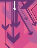 Serie della priorità bassa della freccia royalty illustrazione gratis