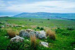 Serie della Terra Santa - Mt Vista di Arbel al sud Immagine Stock Libera da Diritti