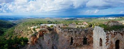 Serie della Terra Santa - parco nazionale 7 della fortezza di del ` di Yehi Immagine Stock Libera da Diritti