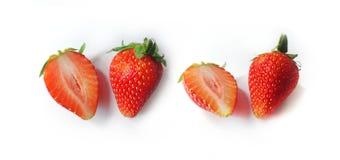 Serie delle fragole di freschezza Immagini Stock