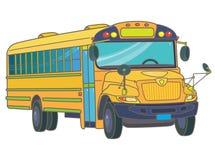 Serie dello scuolabus - 1 Immagine Stock