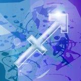 Serie dello zodiaco - Sagittarius Fotografie Stock Libere da Diritti