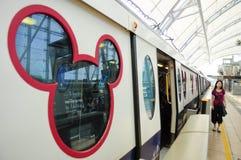 Serie des Disney-Landes Lizenzfreies Stockbild