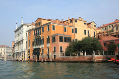 Serie di Bella Italia. Case di Venezia. Fotografie Stock