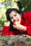 serie di bellezza di autunno Fotografie Stock Libere da Diritti