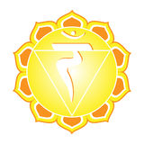 Serie di Chakra: Manipura Immagini Stock Libere da Diritti