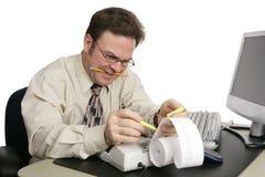 Serie di contabilità - preparazione di imposta Fotografie Stock