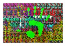 Serie 03a di decostruzione immagini stock