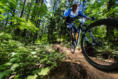 Serie di enduro dell'Oregon - Adam Craig Immagine Stock