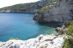Serie di spiaggia di pietra del mare Immagini Stock
