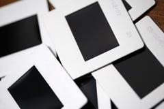 Serie di trasparenze Fotografie Stock