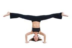 Serie di yoga fotografia stock
