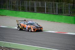Serie euro Chevrolet Lumina de V8 en Monza Imagen de archivo