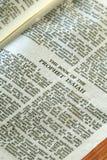 serie för bibelisaiah profet Arkivfoton