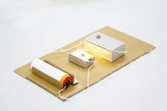 Serie för elektriska strömkretsar Arkivfoto