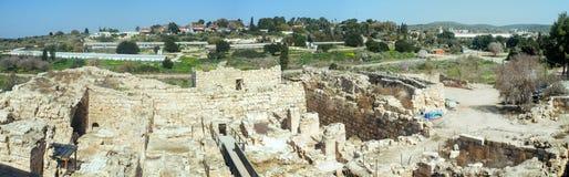 Serie för heligt land - Eleutheropolis Beit Guvrin nationalpark Royaltyfria Bilder