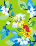 Serie floral del fondo Fotografía de archivo