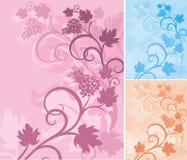 Serie floral del fondo Imagen de archivo libre de regalías