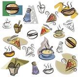 Serie fresca dell'oggetto illustrazione di stock