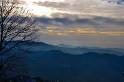Serie góry i mgła Obraz Stock