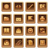 serie ikony mail serie Zdjęcie Stock