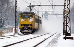 Serie im Schnee Lizenzfreie Stockbilder