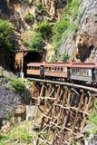 Serie im Tunnel Stockfotos