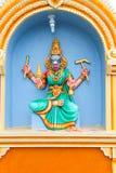 Serie india de la estatua del templo Fotografía de archivo libre de regalías