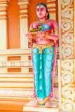 Serie india de la estatua del templo Imagen de archivo libre de regalías