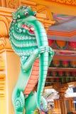 Serie india de la estatua del templo Fotografía de archivo