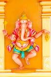Serie india de la estatua del templo Imagen de archivo