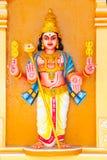 Serie india de la estatua del templo Imágenes de archivo libres de regalías
